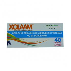 RANBAXY PHARMACIE GENERIQUES Xolaam 40 comprimés à croquer ou à sucer