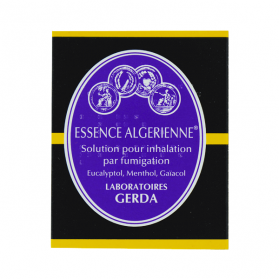 GERDA Essence algerienne solution pour inhalation par fumigation 20ml