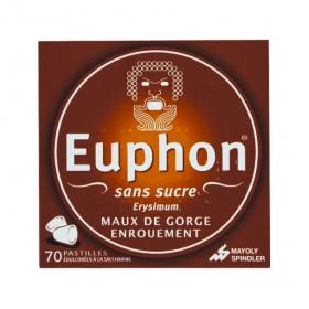 MAYOLY SPINDLER Euphon sans sucre 70 pastilles édulcorées à la saccharine