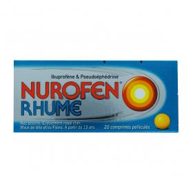 RECKITT BENCKISER Nurofen rhume 20 comprimés pelliculés