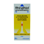 SANOFI Rhinathiol promethazine sirop 200ml
