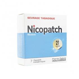 NICOPATCH 21mg/24h 7 patchs