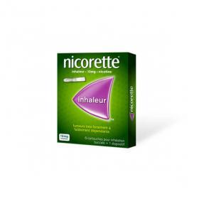 NICORETTE Inhaleur boîte de 6 cartouches 10mg