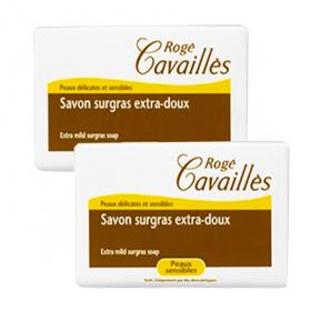 Savon surgras extra-doux lait et miel 2x250g