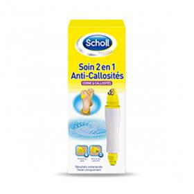 SCHOLL Soin 2 en 1 anti-callosités 1 kit