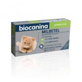Mibetel 4 mg/10 mg petit chat et chaton 2 comprimés pélliculés