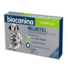Mibetel 12,5 mg/125 mg chien 2 comprimés pélliculés