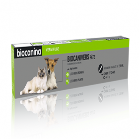 Biocanivers pâte 7,5ml