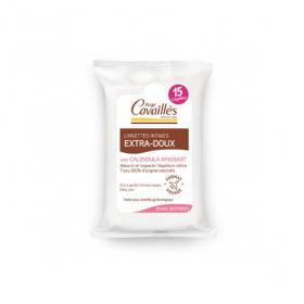 Lingettes intimes extra-douces x15