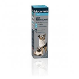 BIOCANINA Lait auriculaire chien et chat 90ml