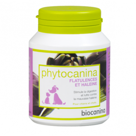 BIOCANINA Phytocanina flatulences et haleine 40 comprimés