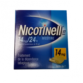 NICOTINELL Tts 7 patchs 14mg/24h