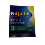 NIQUITIN 7 patchs 21mg/24h
