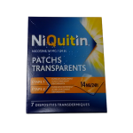 NIQUITIN 7 patchs 14 mg/24h