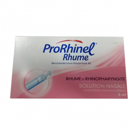 PRORHINEL Prorhinel rhume solution nasale 20 dosettes 5ml