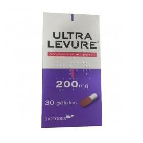 BIOCODEX Biocodex ultralevure 200mg gelule 30 gelules