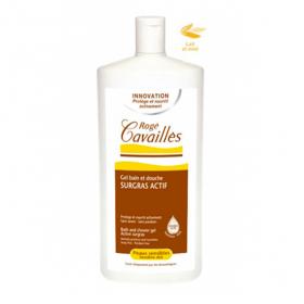 ROGÉ CAVAILLES Gel bain et douche surgras actif lait et miel 750ml