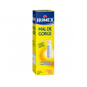 HUMEX Mal de gorge lidocaine collutoire flacon pressurisé 35ml
