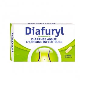 COOPER Diafuryl 200mg 12 gélules