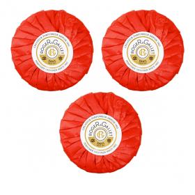 ROGER & GALLET Savon parfumé fleur de figuier coffret 3x100g