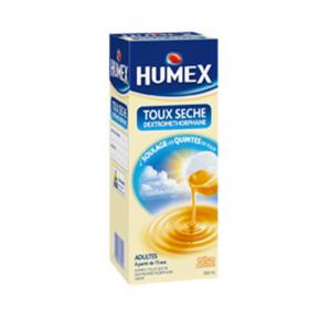 Adultes toux sèche dextromethorphane sirop 200ml