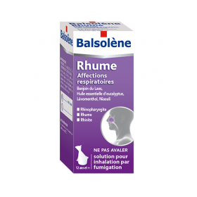 Balsolene solution pour inhalation par fumigation 100ml