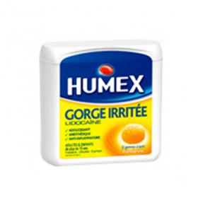 HUMEX Gorge irritée lidocaine 30 gommes orales