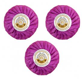 Savon parfumé gingembre coffret 3x100g
