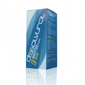 DISSOLVUROL 0,25% solution buvable en gouttes 45ml