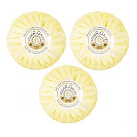 ROGER & GALLET Savon parfumé cédrat coffret 3x100g