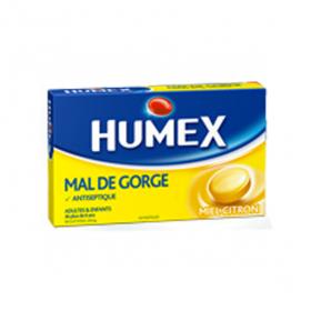 Mal de gorge biclotymol 20mg miel citron 24 pastilles