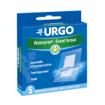 URGO Waterproof grand format 10cmx7cm 5 pansements