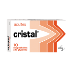 COOPER Cristal adultes 10 suppositoires