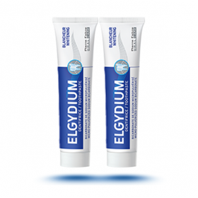 ELGYDIUM Dentifrice blancheur lot 2x75ml