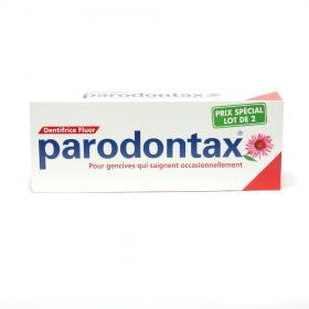 PARODONTAX Pâte gingivale 2x75ml