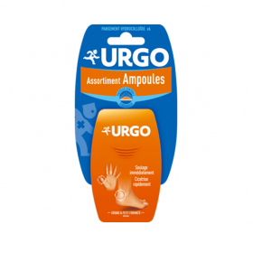 URGO Ampoules assortiment 6 pansements
