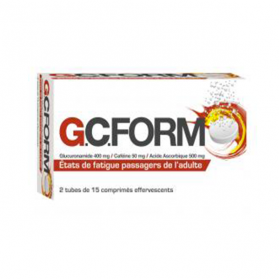 COOPER Gcform comprimé effervescent 30 comprimés
