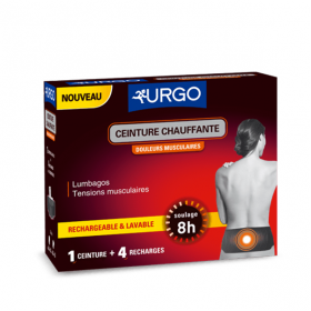URGO Ceinture chauffante 4 recharges