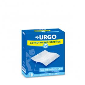 URGO Compresse stérile gaze 7,5 cm x 7,5 cm 10x2 unités