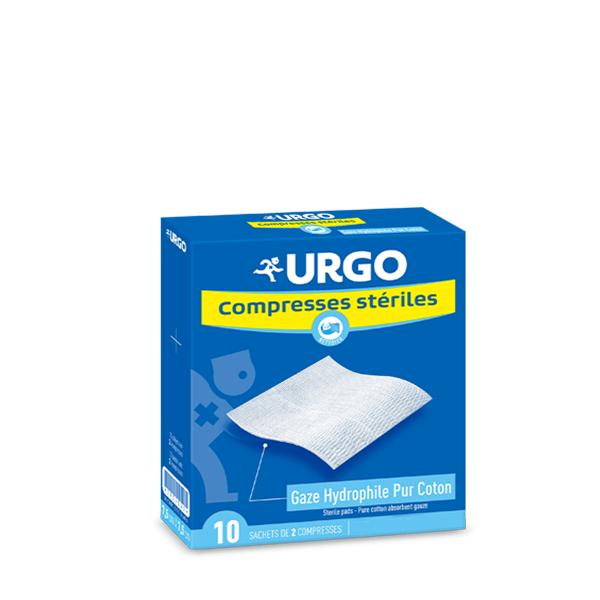 Urgo compresse st rile gaze 10 cm x 10 cm 10x2 unit s - Piastrelle 10 x 10 ...