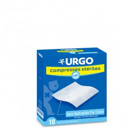 URGO Compresse stérile gaze 10 cm x 10 cm 10x2 unités