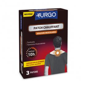 URGO Patch chauffant douleurs musculaires vêtement 3 patchs