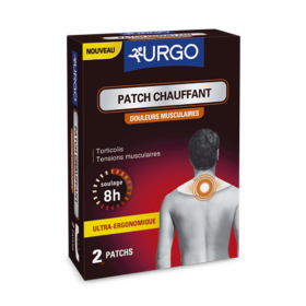 Patch chauffant douleurs musculaires peau 2 patchs
