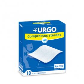 URGO Compresses stériles non tissées 10x10 cm 10x2 unités