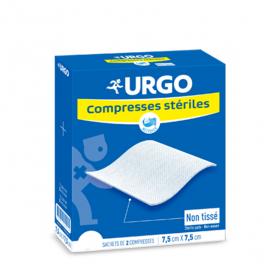 URGO Compresses stériles non tissées 10x10 cm 25x2 unités