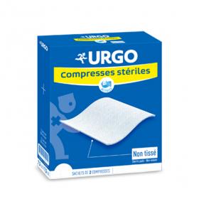 URGO Compresses stériles non tissées 7.5x7.5 cm 25x2 unités