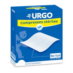Compresses stériles non tissées 10x10 cm 50x2 unités