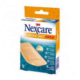 Nexcare active 360° maxi 5 pansements