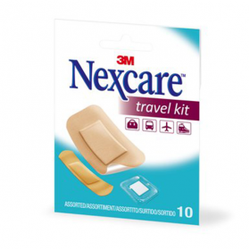 3M SANTE Nexcare travel kit 10 pansements