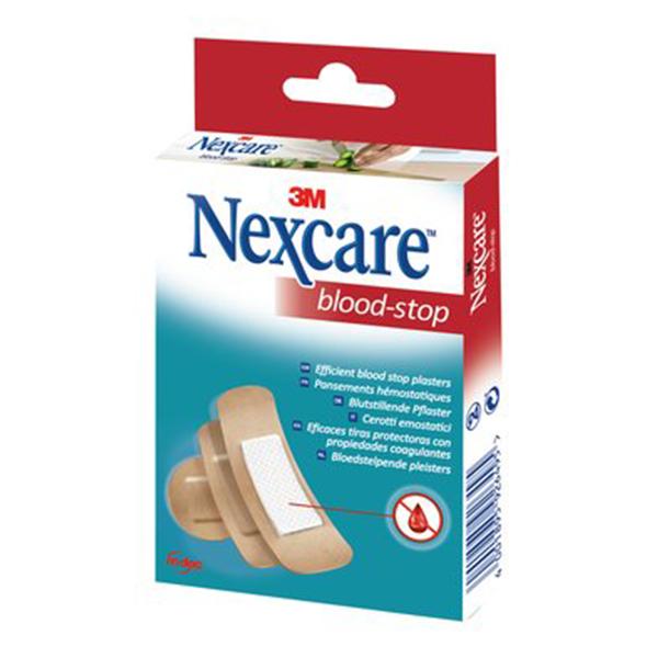 3M SANTE Nexcare blood stop 30 pansements - Parapharmacie